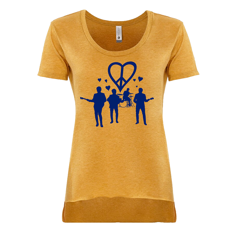 Women's Band Hearts Tee