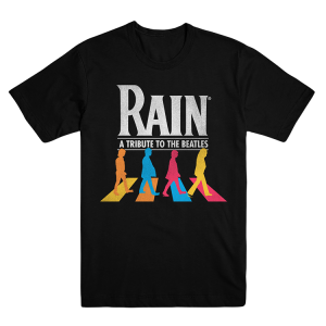 Black Abbey Road Logo Tee