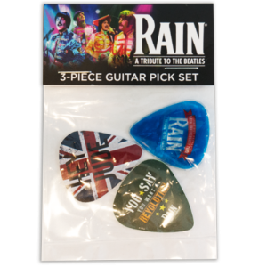 3-Piece Guitar Pick Set