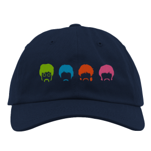 Rainbow Heads Dad Hat